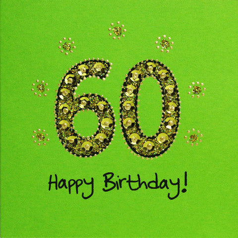 Jaab Cards - 60th Birthday Card
