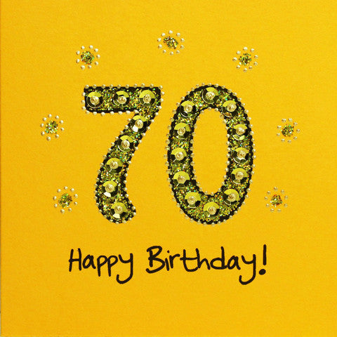 Jaab Cards - 70th Birthday Card