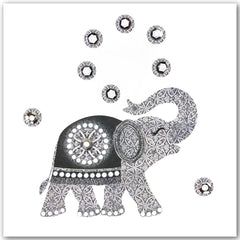 Jaab Cards - Silver Elephant Birthday Card