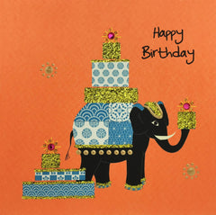 Jaab Cards - Elephant Presents (Pack of 5)