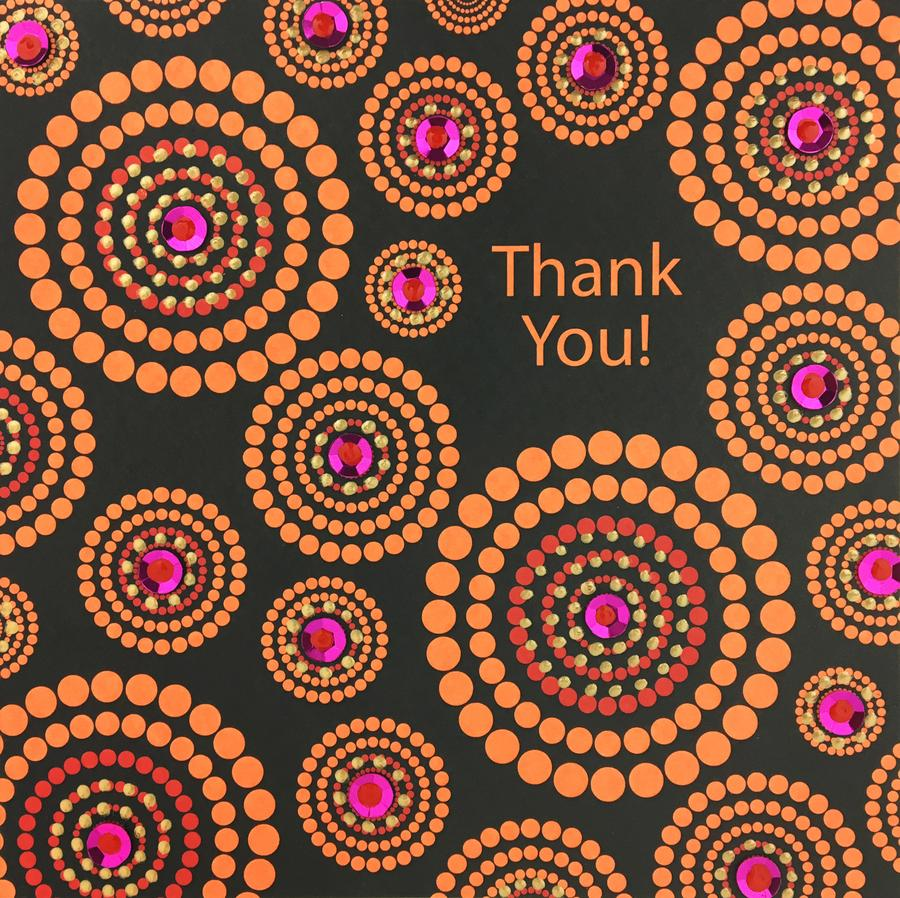 Jaab Cards - Thank You Circles (Pack of 5)