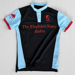 Youth - Blue/Red Elephant Polo Jersey