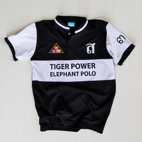 Tiger Power Elephant Polo Jersey