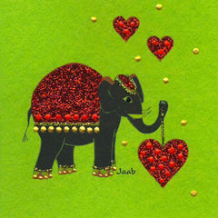 Jaab Cards - Elephant's Heart