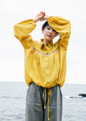 CROW Yellow Organic Shirt