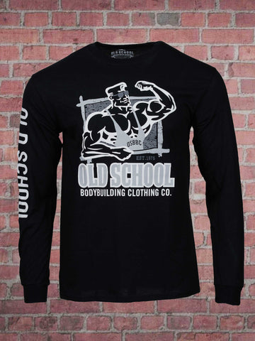Frame Black Long Sleeve Tee Shirt