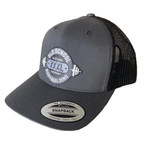 Trucker Charcoal & Black with Multi Grey