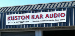 Kustom Kar Audio Sign