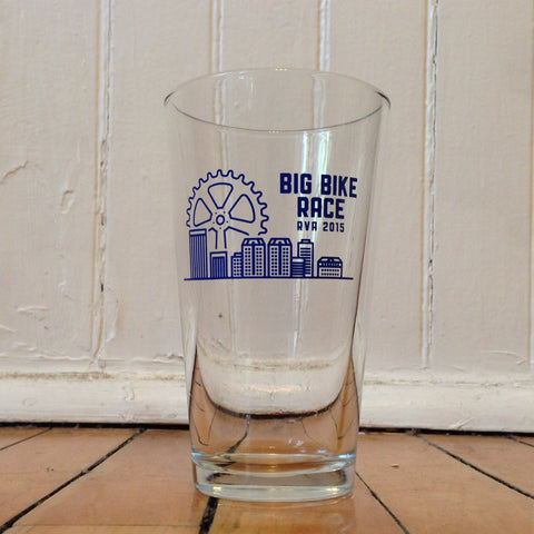 Big Bike Race™ pint glass