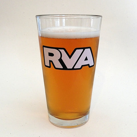 RVA pint glass
