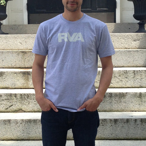 Gray and White RVA Shirt