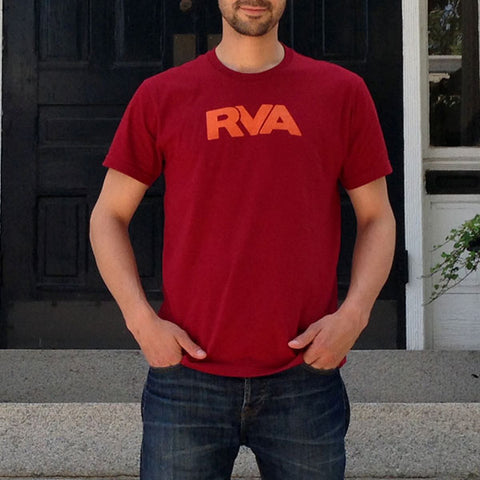 Orange & Maroon RVA T-Shirt