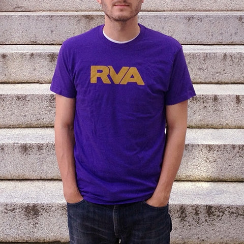 Purple & Gold RVA T-Shirt