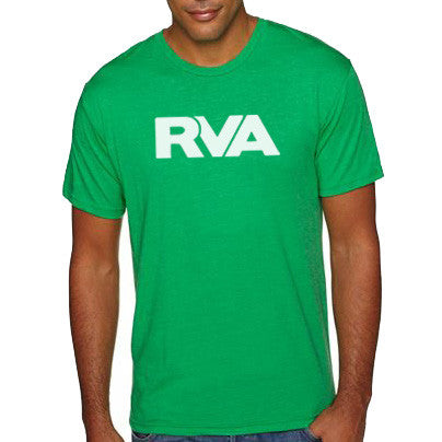 Green and White RVA Shirt