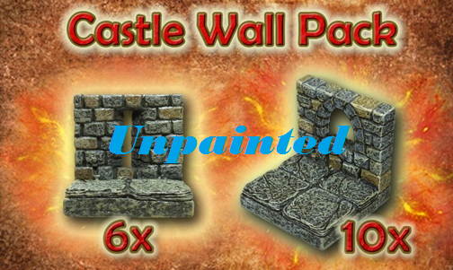 Castle Wall Pack unpainted