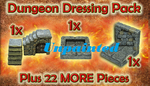 Dungeon Dressing Pack unpainted