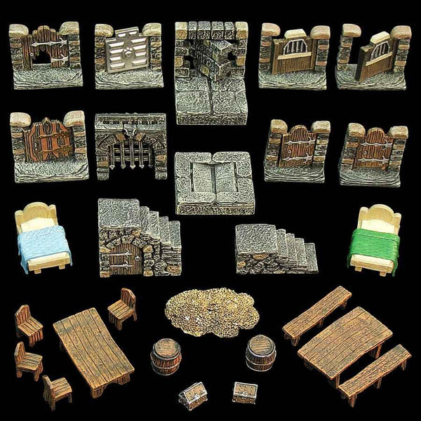 Dungeon Dressing Pack - painted