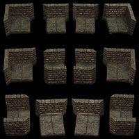 Dungeon Passage 3 - unpainted