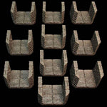 Dungeon Passage 4 - unpainted