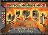 Narrow Cavern Passage Pack unpainted