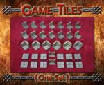 Game Tiles Set unpainted