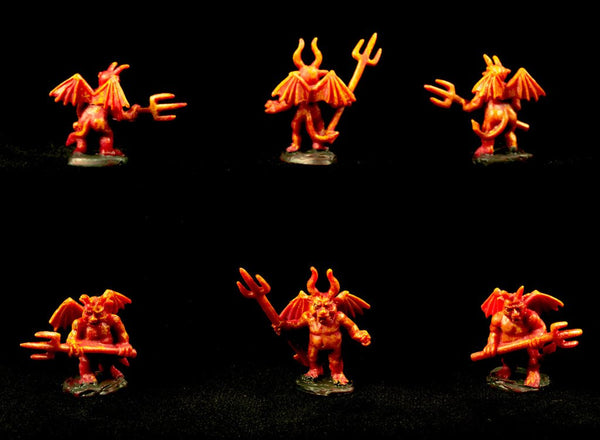 Devil Newts - dwarvenite painted