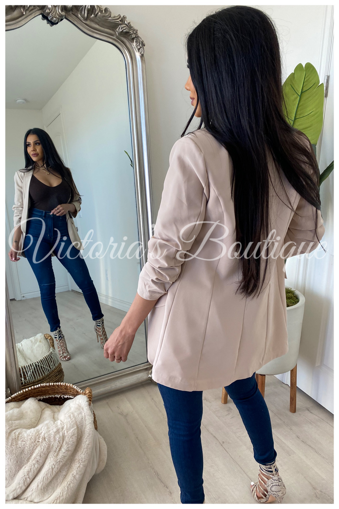Business Elite Blazer (Nude)