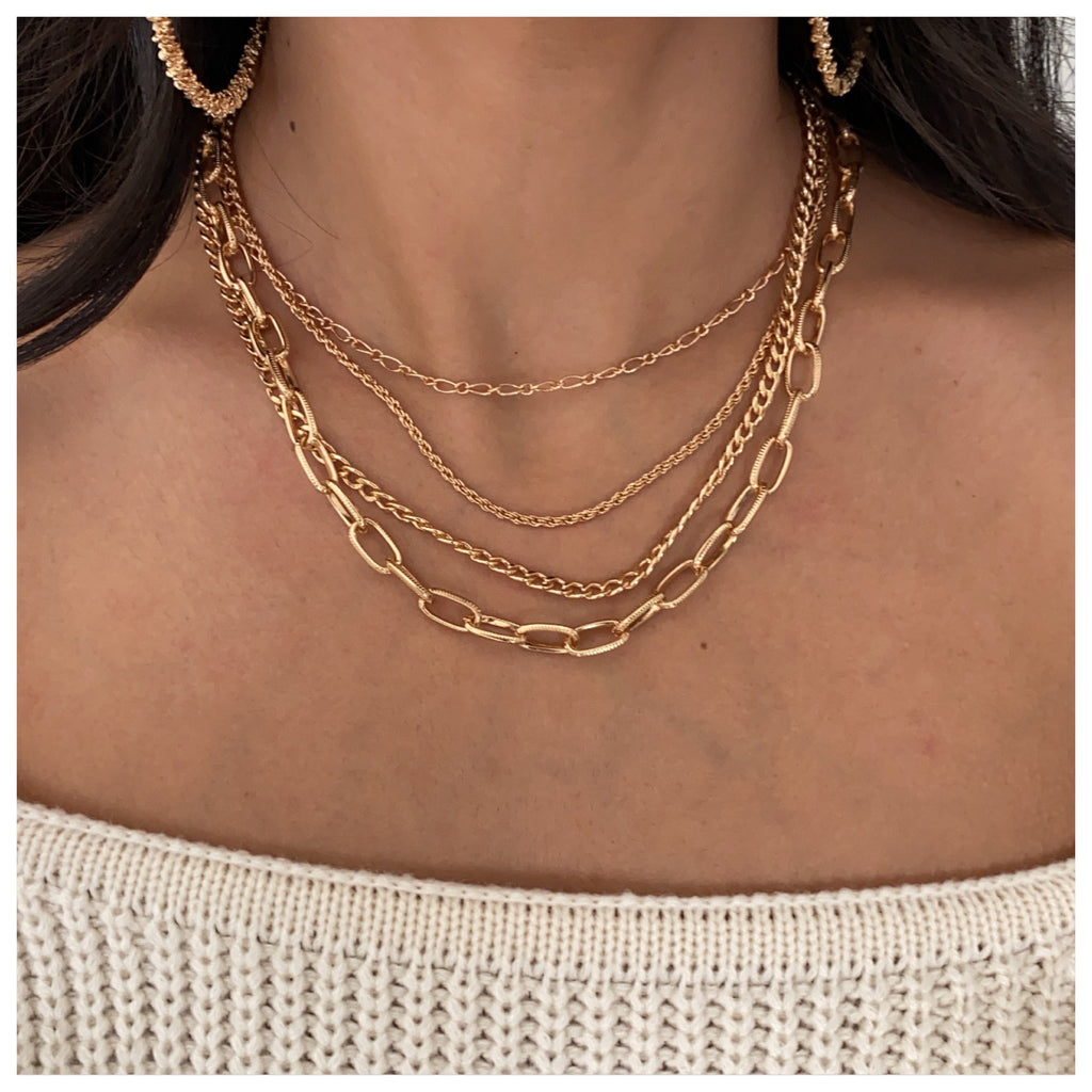 209 Necklace (Gold)