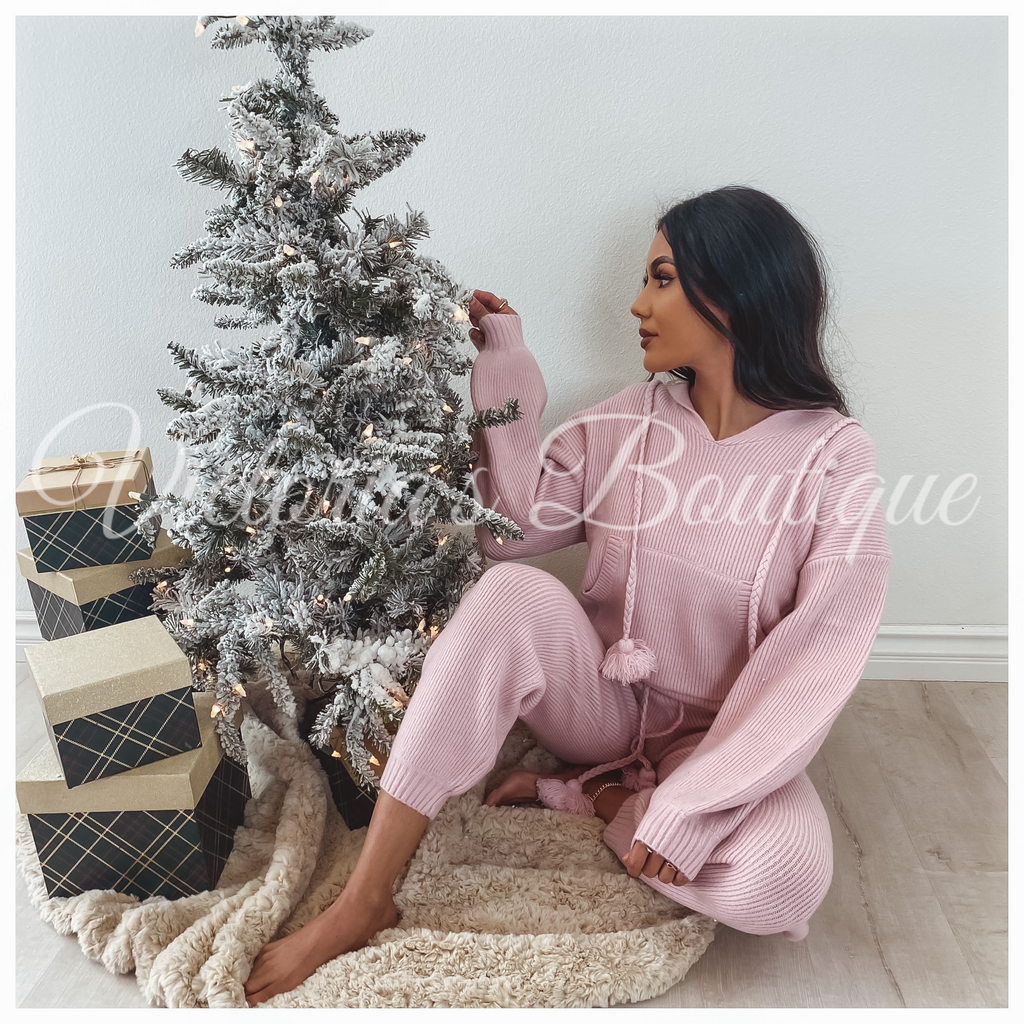 Cozy Queen Set (Pink)