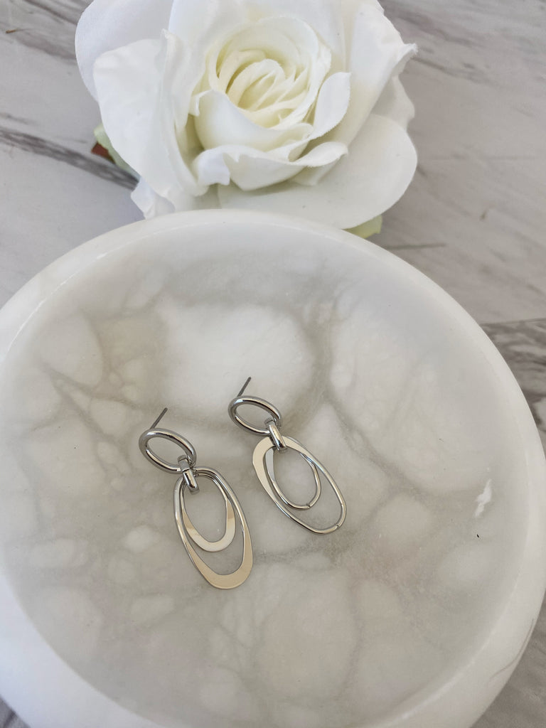 Mimi Earrings (Silver)