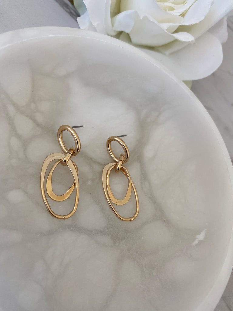 Mimi Earrings (Gold)