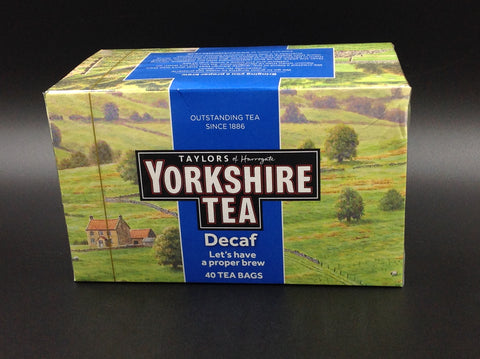 Taylors of Harrogate Yorkshire Tea Decaf 35s