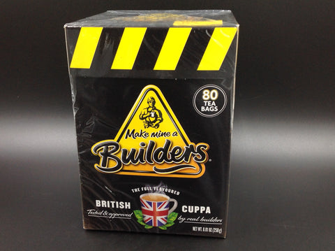 Builders British Cuppa Strong Tea 80s