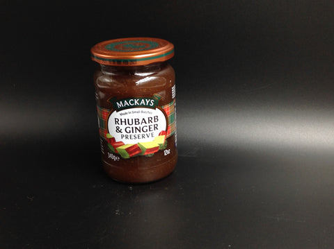Mackays Rhubard and Ginger Preserve 340g