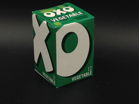 OXO Vegetable Stock Cubes 12 Cubes (71g)