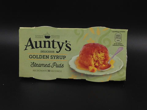 Aunty's Golden Syrup Steamed Puds 2x95g