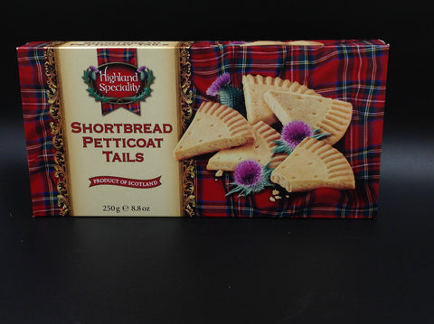 Highland Speciality Shortbread Petticoat Tails 125g