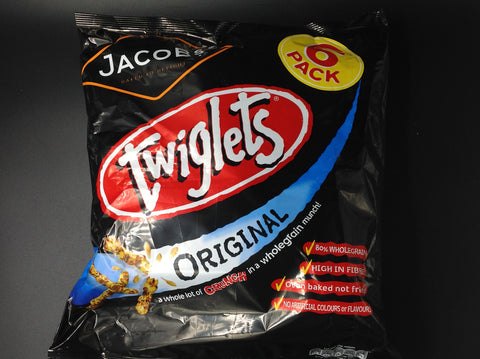 Jacob's Original Twiglets 6 Pack