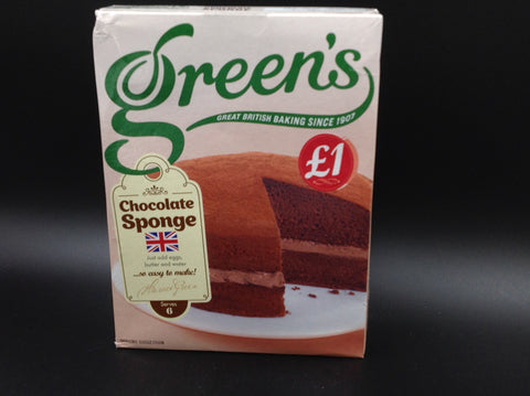 Green's Chocolate Sponge Mix 221g