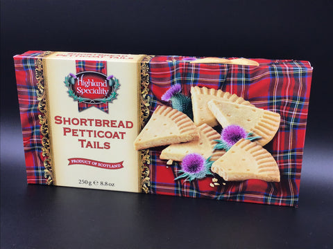 Highland Shortbread Petticoat Tails 250g