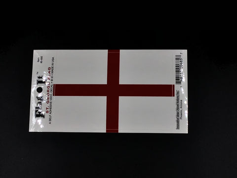 England Flag Car Decal
