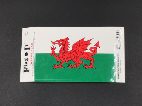 Wales Flag Car Decal