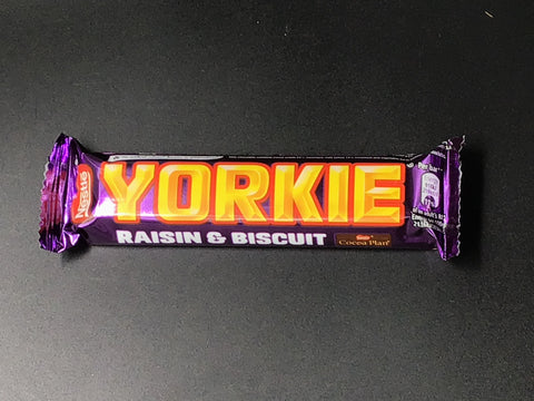 Yorkie Milk Chocolate Raisin & Biscuit 46g