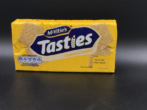 "McVities Tasties ""Custard Creams"" 300g"