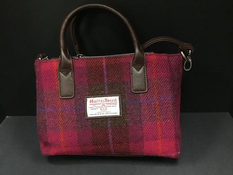 """Harris Tweed"" Tartan Hand & Shoulder Bag"