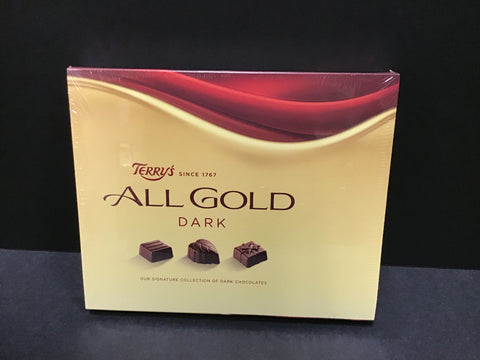 Terry's All Gold Dark Chocolates Box 190gr