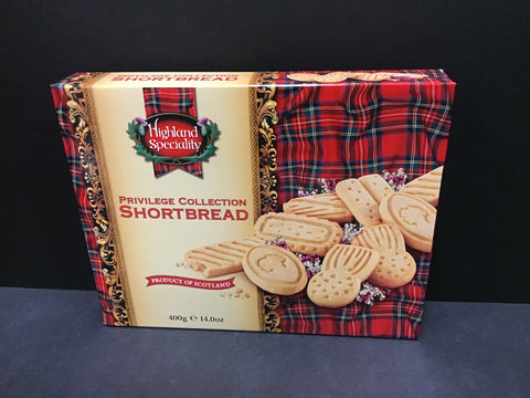 Highland Speciality Shortbread - Privilege Collection 400gr