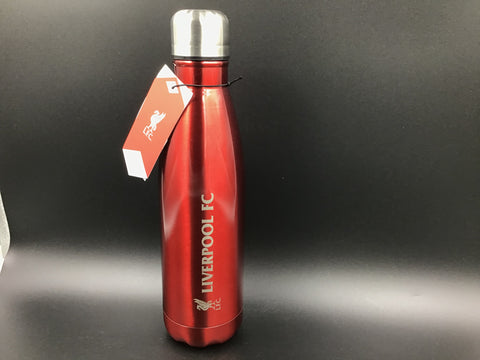 "Stainless Steel ""Liverpool"" Water Bottle - Vacuum Flask"