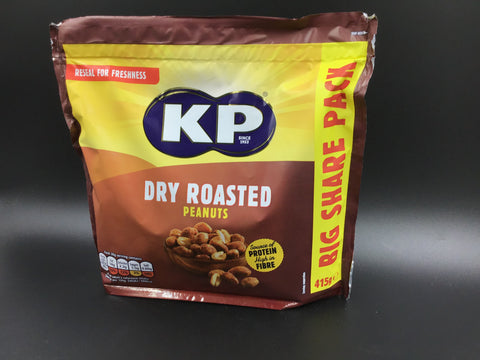 "KP Peanuts ""Dry Roasted"" 415g"