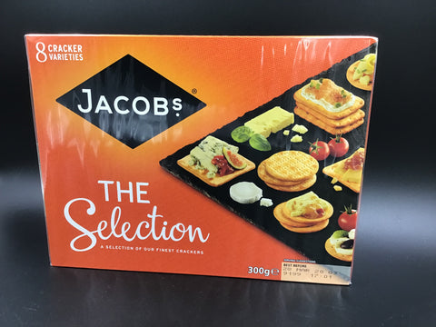 "Jacob's Crackers ""The Selection"" 300g ""Sale"""